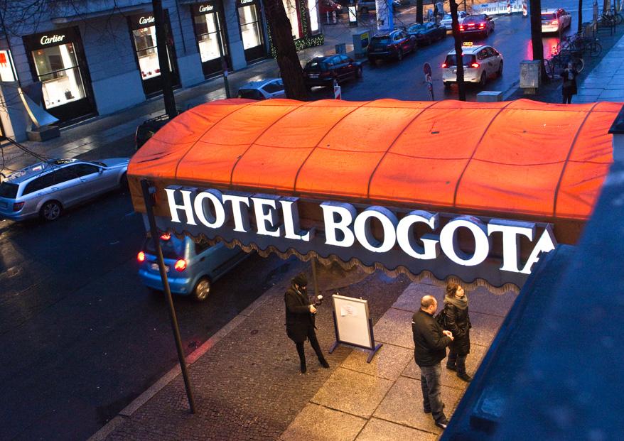 1/21 - Hotel Bogotá