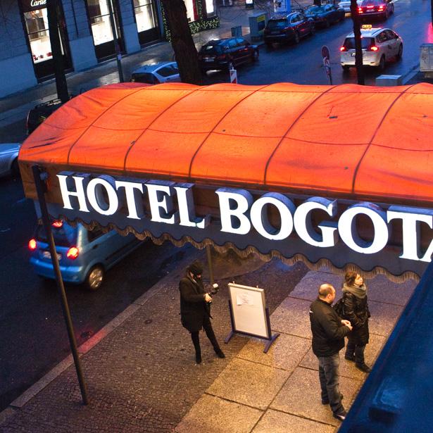 Farewell to Hotel Bogotá